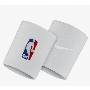 NIKE NBA ELITE WRISTBAND IN WHITE